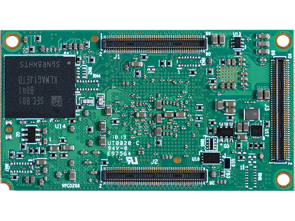 DART-MX8M bottom  : NXP i.MX 8M SoM