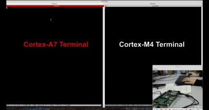 How to run a Ping-Pong demo app with Cortex-A7 and Cortex-M4 on i.MX7 System on Module