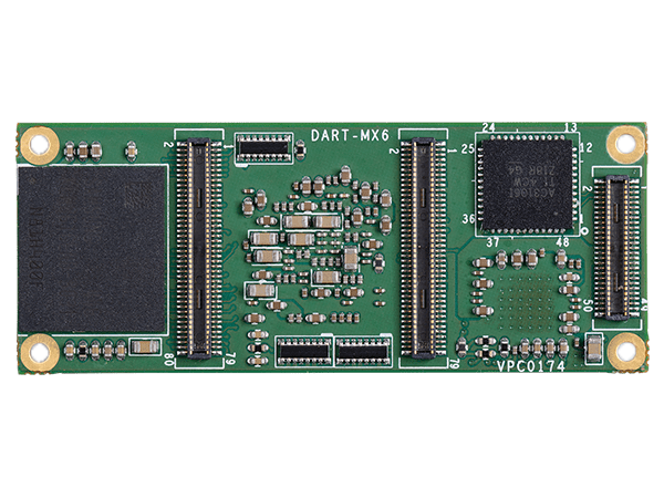DART-MX6 bottom : NXP/Freescale i.MX6 Module