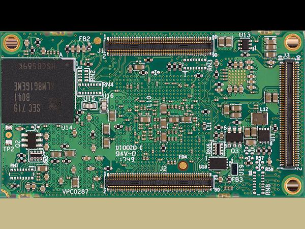DART-MX8M bottom  : NXP i.MX 8M SoM