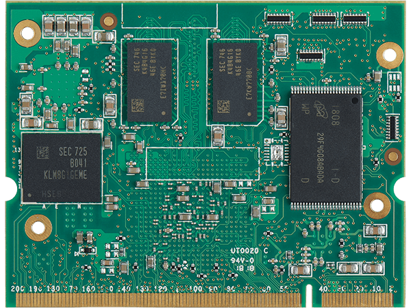 VAR-SOM-MX6 bottom : NXP/Freescale iMX6 System on a Module