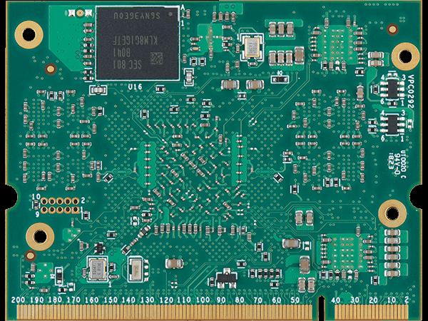 VAR-SOM-MX8 bottom : NXP i.MX8 SoM (System on Module)