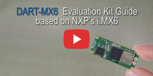 DART-MX6 Evaluation Kit Guide