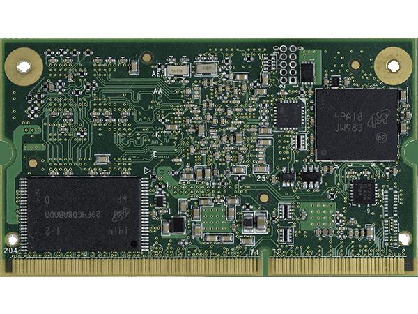 VAR-SOM-AM43 bottom : Texas Instruments AM437x SoM