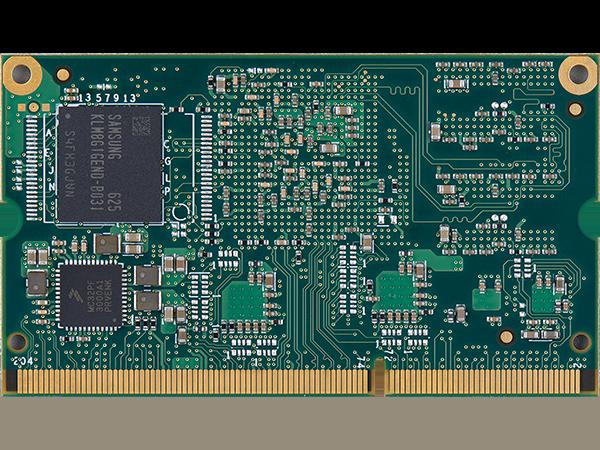 VAR-SOM-MX7 bottom with eMMC