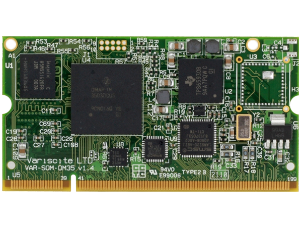 VAR-SOM-OM35 Based on OMAP3530 OMAP3503