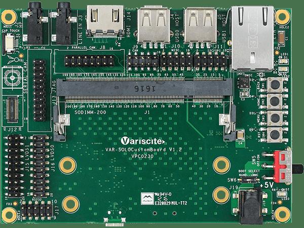 VAR-SOM-SOLO/DUAL ARM Single Board Computer