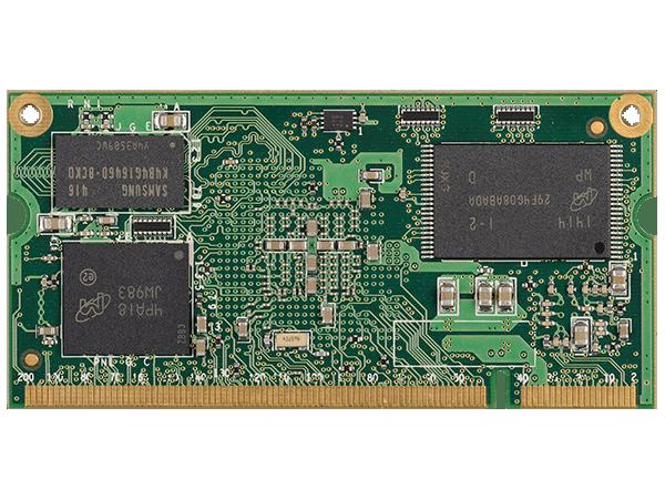 VAR-SOM-SOLO/DUAL bottom : NXP i.MX6 SoM