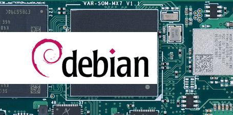 New Release: Debian Stretch update for the VAR-SOM-MX7 module family