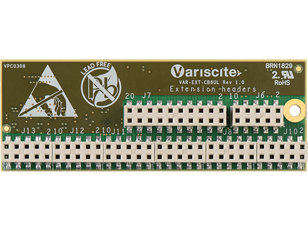 VAR-EXT-CB6UL bottom : iMX6UL Camera Board