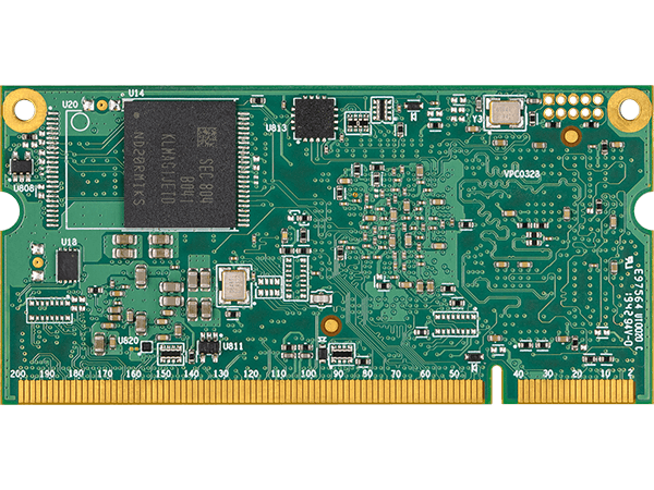 VAR-SOM-MX8M-MINI bottom : NXP i.MX8M Mini System on a Module