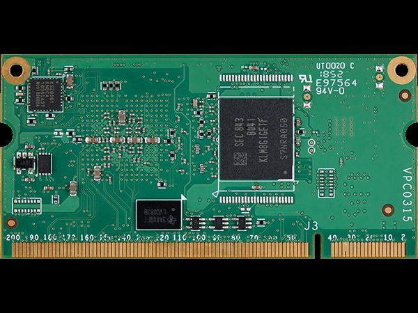 VAR-SOM-6UL bottom: i.mx6 UltraLite System on Module
