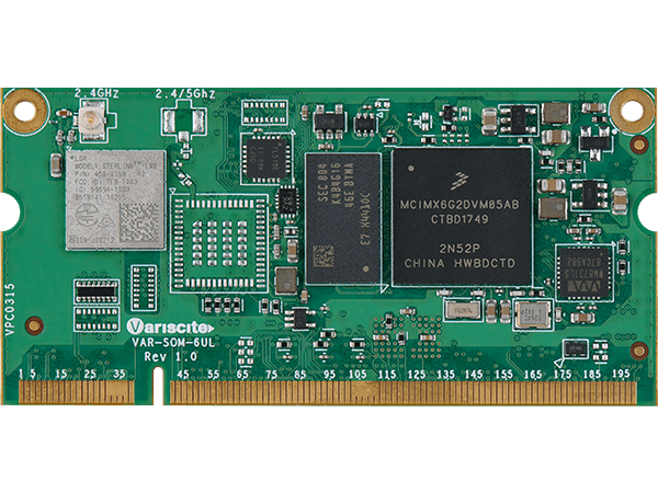 VAR-SOM-6UL : NXP i.mx6 UltraLite System on Module (SoM)