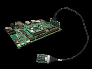 VCAM-1335E with i.MX8M board