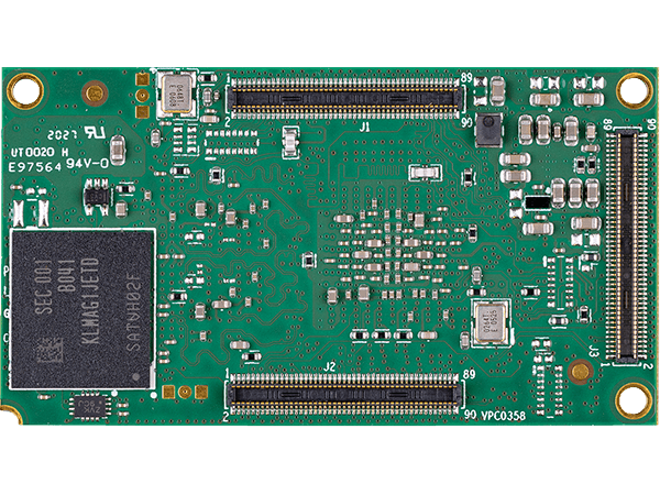 DART-MX8M-PLUS bottom : NXP i.MX8M Plus System on a Module