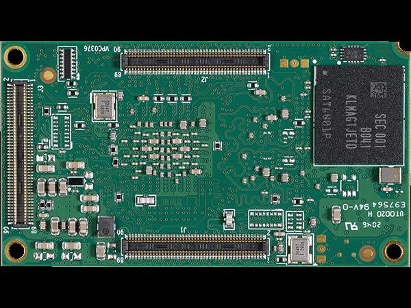 DART-MX8M-PLUS bottom : NXP i.MX8M Plus WBD System on a Module
