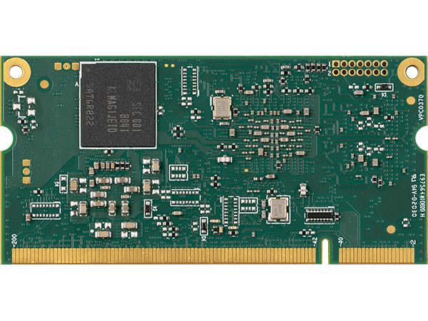 VAR-SOM-MX8M-PLUS bottom : NXP i.MX8M Plus System on a Module